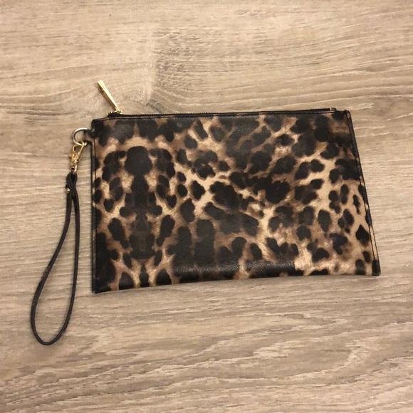 4c2179b2adb Aldo Handbags - Aldo Leopard Wristlet